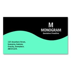 >>>Low Price          	Half Wave Monogram - Turquoise and Black Business Cards           	Half Wave Monogram - Turquoise and Black Business Cards In our offer link above you will seeHow to          	Half Wave Monogram - Turquoise and Black Business Cards please follow the link to see fully rev...Cleck Hot Deals >>> http://www.zazzle.com/half_wave_monogram_turquoise_and_black_business_card-240992074914308657?rf=238627982471231924&zbar=1&tc=terrest