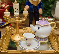The Beauty and the Beast Ideas Birthday Party.10