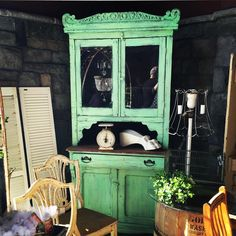 Thanks @jordecor  and friends #tealtuesdaydecor  found this stunning old  minty cupboard at @reclaim_ologists  #springfling so fun  hey @jamirayvintage  and @brooke_startathome would you like to share your teal treasures? Vintage Green, Cupboard, Teal, Friends, Instagram Posts, Fun, Home Decor, Clothes Stand, Amigos