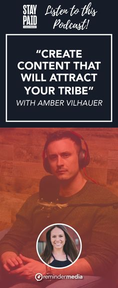 Today on Stay Paid, Amber talks about how to jump headfirst into content marketing, and why video is a great way to attract a more genuine audience. Relationship Marketing, Social Media Content, Marketing Ideas, Real Estate Marketing, Content Marketing, Work On Yourself, Attraction, Amber, Create