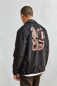 Stussy Funk Coaches Jacket - Urban Outfitters