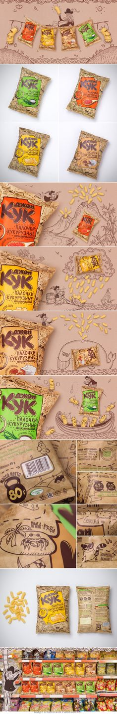 Funny snacks packaging : ) curated by Packaging Diva PD