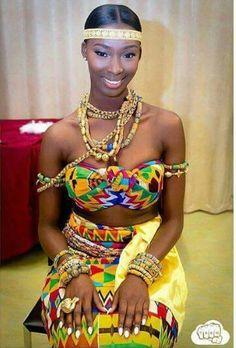Awww Ghana bride..