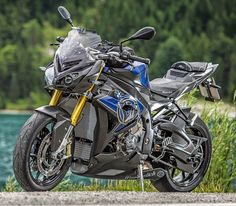 Custom Wunderlich on ContiSportAttack Voted 'Best On Country Roads' in a 2014 hypersport tyre test by PS Mag. Bmw Motors, Bmw S1000rr, Moto Bike, Classic Bikes, Bike Design, Motor Sport, Bike Life, Sport Bikes, Custom Bikes