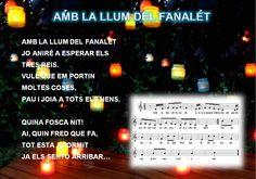 "Trencaclosques: Cançó: ""Amb la llum del fanalet"" Xmas, Christmas, Musicals, Periodic Table, Education, Animals, Kids Songs, School, Christmas Music"