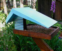 Mid Century Modern Bird Feeder