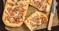 Hawaiian Pizza, Vegetable Pizza, Quiche, Cake Recipes, Food And Drink, Baking, Vegetables, Breakfast, Petra