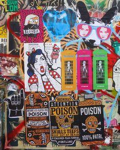 Work by @D7606art @pamgood2 @lame_pdx @kafkaisfamous @losthills_ @jimzina @arrexskulls ● Portland, Oregon . . #d7606 #D7606art #kafkaisfamous #lamepdx #losthils #arrexskulls #jimzina #pamgood2 #iancurtis #joydivision #debbieharry  #portlandstreetart #pdxstreetart #pasteups #popart  #streetartportland #pdxstickers #pdx #urbanart #streetart #globalstreetart #streetartandgraffiti #streetarteverywhere #graffiti #rsa_graffiti #tv_streetart  #dsb_graff #dopeshotbro #streetart_addiction