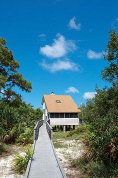 St. Joseph Peninsula State Park, Port St. Joe in North Florida