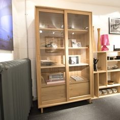 Oak Wave Book Rack by Ethnicraft - Ex Display - was £1955 now £1355