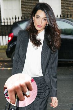 Amal Clooney's seriously stunning engagement ring