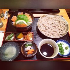 Soba for today's lunch