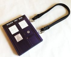 Items similar to Doctor Who Tardis Book Purse - Police Call Box Journal Book Clutch on Etsy