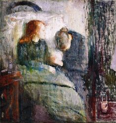 The Athenaeum - The Sick Child (Edvard Munch - )