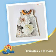 Ya viene la primavera y los vestidos no sólo pueden llevar estampados con flores pequeñas sino también grandes como este.