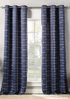 Sun Zero™ Saki Shibori Print Blackout Grommet Curtain Panel | belk