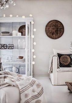 Blanco y Tierra decó para alcanzar tus propósitos | Decorar tu casa es facilisimo.com