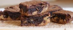 Make this decadent cookie-brownie treat fast with help from Betty Crocker™ cookie and brownie mixes.