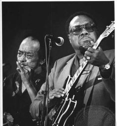 ■ James Cotton and Jimmy Rogers.