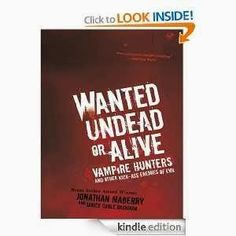 A Moment With Mystee: Book Review: Wanted Undead or Alive by Jonathan Maberry
