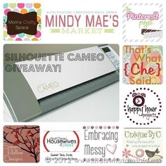 Silhouette Cameo Giveaway Photo