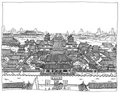 Free Coloring Page Coloring Adult Great Wall Of China