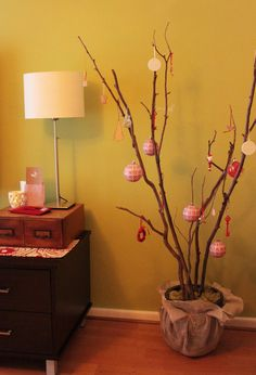 Lovely Christmas tree for small spaces - Top 20 of The Most Magnificent DIY Christmas Decoration Ideas