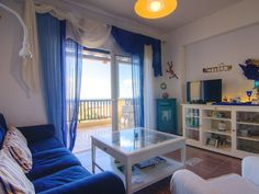 Panormos apartment rental - Great views from the living room!