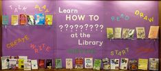 Good idea to promote non-fiction. Maybe involve students in making sample to include in the display.