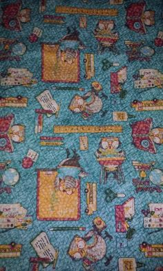 Printed Fabric Panel Make A Cushion Upholstery Craft Gypsy Fortune Teller