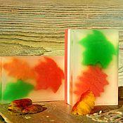 """Косметика ручной работы. Ярмарка Мастеров - ручная работа Мыло сувенирное  """"Листопадная капель"""". Handmade."""