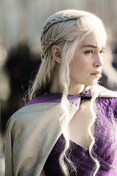 Daenerys Hair: Unique Silver Tone + Beautiful Long Hair + Magnificent Braids = The Perfect Hair <3