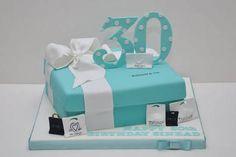 Tiffany & Co 30th birthday cake