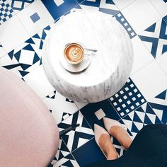 I used to drink my cappuccino every morning on this round little marble table du. I used to drink Drink Me, Stone Coasters, Pink Marble, Ceramics, Mugs, Table, Amsterdam, Explore, Design