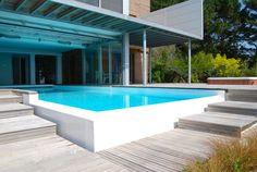 Jardin avec piscine 24 photos: designs splendides par OFTB | Jardin ...