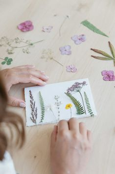 These are so beautiful - DIY pressed flower cards✨ inspired by . Good Luck Cards, Pressed Flower Art, Christmas Cards To Make, Mothers Day Cards, Handmade Birthday Cards, Flower Cards, Diy Flowers, Making Ideas, Pressing Flowers