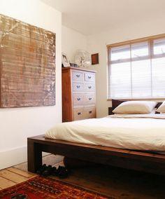 Darran and Lorraine's eastern-inspired bedroom
