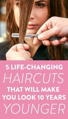 In our quest to look our best, which for some of us means bringing out those features that make us feel and look more radiant and youthful, your hairstyle counts—big time. If it's been awhile, like more than 10 years-awhile, since your last major haircut or if you're still rocking styles Jennifer Aniston has long abandoned, it's possible your hair is aging you. Medium Fine Hair, Medium Hair Styles, Curly Hair Styles, Medium Brown, Haircut For Older Women, Older Women Hairstyles, Easy Mom Hairstyles, Korean Hairstyles, Casual Hairstyles
