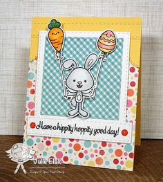 Your Next Stamp:  Sprinkles - Egg-stra Awesome stamp and die sets #yournextstamp