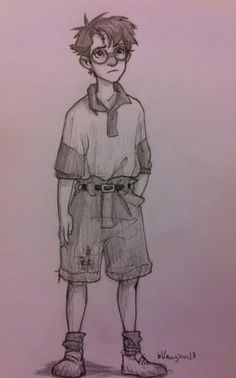 Young Harry  Art by burdge bug. LOO HOW CUTE HE IS AWWW I can't handle this