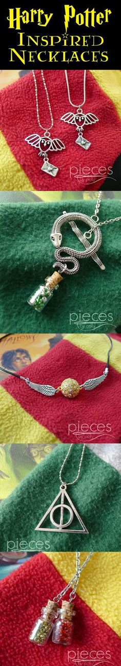 Cute Harry Potter jewelry!