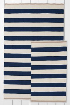 Rugby Striped Rugs from Lands' End