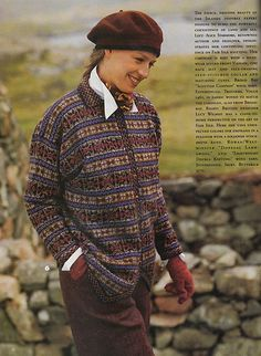 Ravelry: #06 Fair Isle Cardigan pattern by Alice Starmore