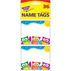 Owl-Stars!TM Name Tags