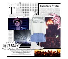"""""""Concert style"""" by regitaputrimeliyanti on Polyvore featuring J.Crew, MANGO and Converse"""