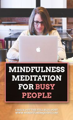 Learn how extremely busy people can incorporate mindfulness exercises and meditation into their daily life. This can be a good way to relax and de-stress. Mindfullness Meditation, Meditation Kids, Daily Meditation, Feelings And Emotions, Thoughts And Feelings, Negative Thoughts, Mindfulness Exercises, Mindfulness Practice, Meditation Benefits