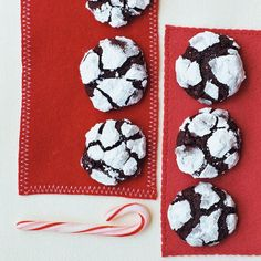 These cookies look like little snow-covered mountains. Roll each ball in confectioners' sugar twice to make sure it's thoroughly coated and no dark dough is visible.
