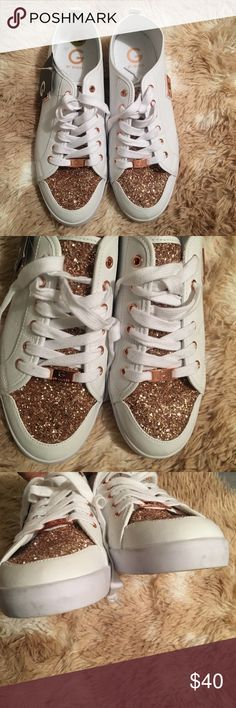 2384cf223ab6 G by Guess Mallory sparkle sneakers size 12 G by Guess Mallory sneaker. The  have