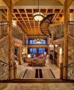 Log Cabin - Entry