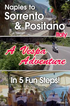 The Amalfi coast is the place to be during the summer in southern Italy. Join me on an exciting Vespa adventure as we travel Italy all the way from Naples to Sorrento and to the town of Positano in 5 fun steps!